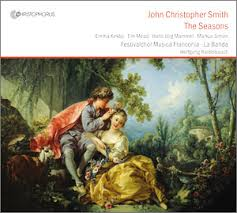 Cover: 2. John Christopher Smith: The Seasons